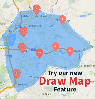 Try our new Draw Map feature